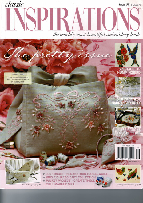 Classic Inspirations Magazine , Issue 59, excellent condition