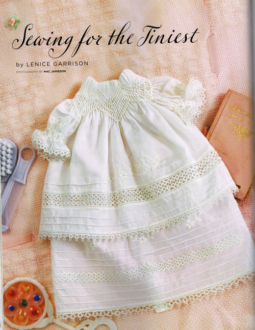 Tiniest gown for preemies from Classic Sewing magazine Autumn 2021