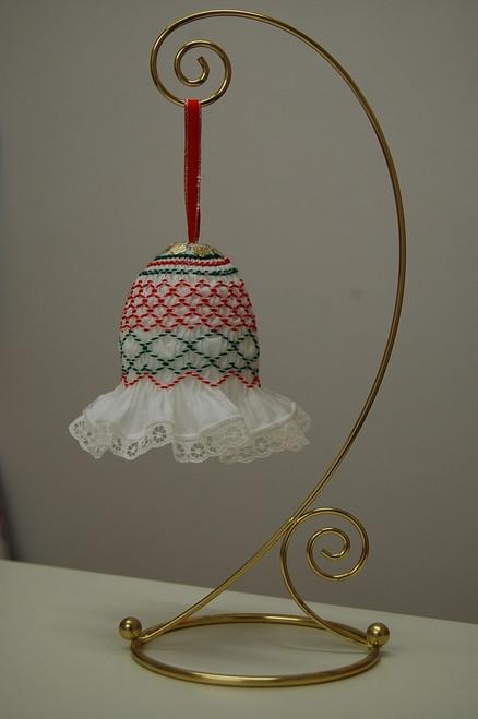 Smocked Christmas Bell