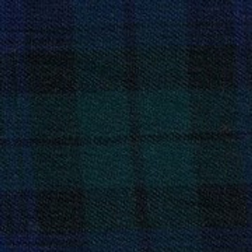100% Brushed Cotton Blackwatch Tartan 147 cm wide mini piping available