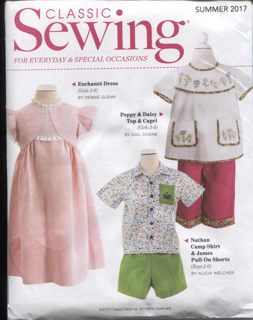 Classic Sewing Summer 2017 pattern