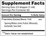 Minerals- Isotonic 50ml