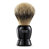 Black Fine Shaving Brush