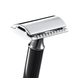 R106 Short Black Safety Razor