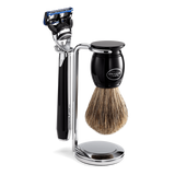 Traditional Razor And Shaving Brush Stand