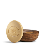 Lavender Shaving Soap With Wooden Bowl