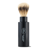 Black Silvertip Turnback Shaving Brush
