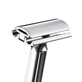 Chrome Long Handle Progress Safety Razor