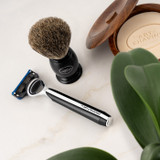 Morris Park Collection Jet Black 5 Blade Razor