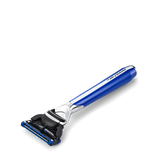 Morris Park Collection Royal Blue 5 Blade Razor
