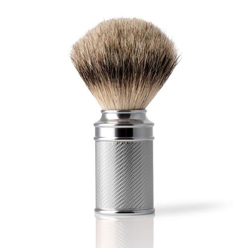 Embossed Silvertip Synthetic Shaving Brush