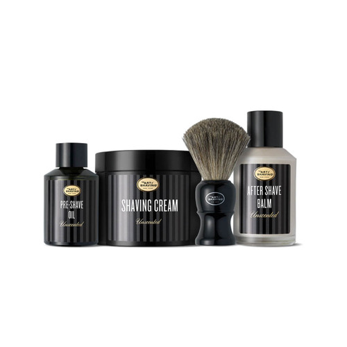 Unscented 4 Elements Bundle With Genuine Badger Brush