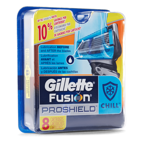 Fusion Proshield Manual Chill Cartridges (8 Count)