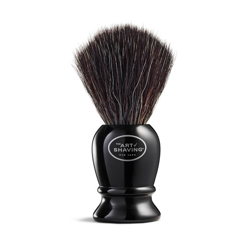 Pure Black Shaving Brush