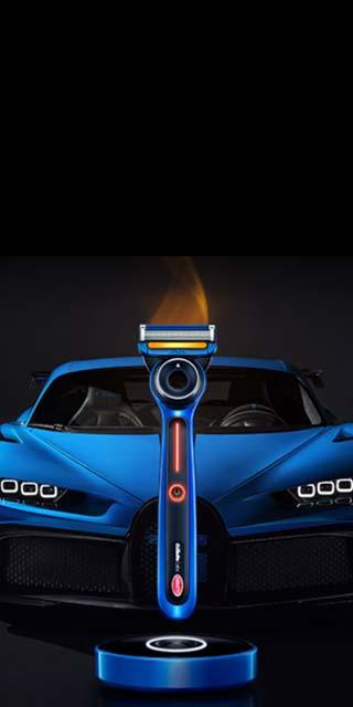 bugatti-heated razor