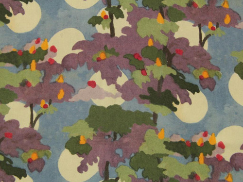 Wholesale Dress Fabric | Luna Garden Viscose Lawn - Blue | Fabric Godmother