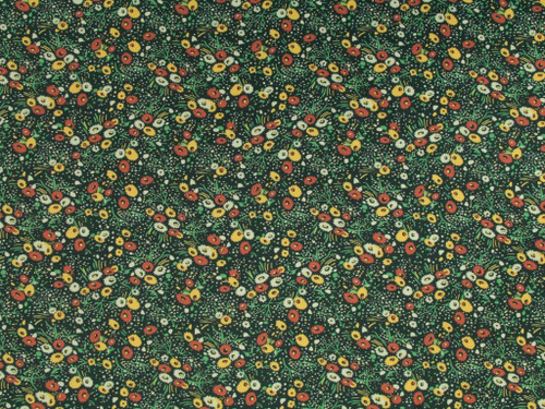 Wholesale Dress Fabric | Meadow Viscose Crepe - Green | Fabric Godmother