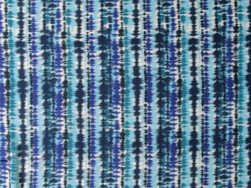 Wholesale Dress Fabric | Shoreline Viscose Crepe - Blue | Fabric Godmother