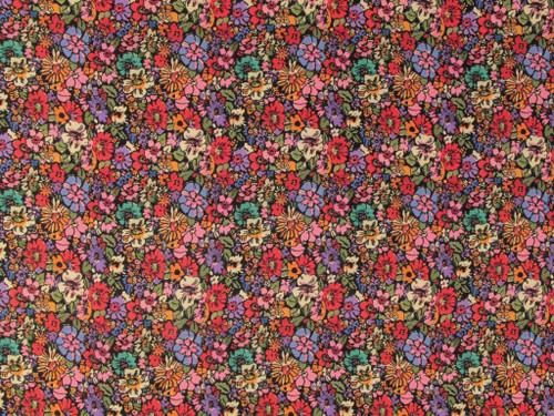 Wholesale Dress Fabric | Rita Viscose Crepe - Multi | Fabric Godmother