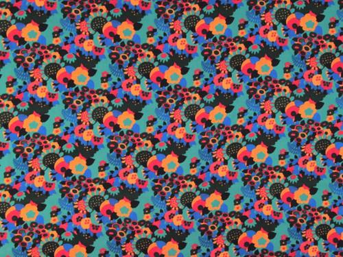 Wholesale Dress Fabric | Maddie Viscose Sateen - Blue | Fabric Godmother