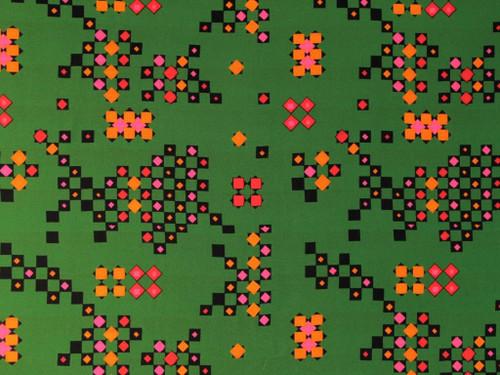 Wholesale Dress Fabric   Jive Viscose Lawn - Green   Fabric Godmother