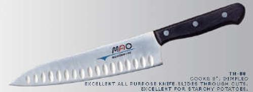 "MAC Knives - Original 8"" Chef knife with Granton edge - TH-80"