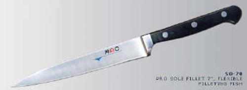 "MAC Knives - Professional 7"" flexible Fillet knife - SO-70"