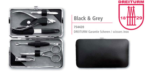 Dreiturm - 7 pc. Manicure set - INOX - 754420