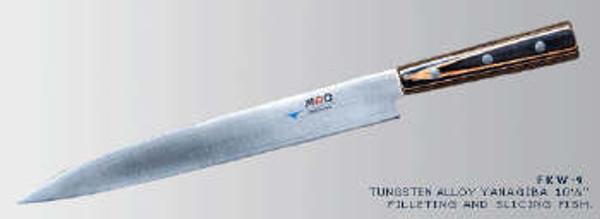 "MAC Knives - Japanese 10.25"" Tungsten Alloy Yanagiba Sushi - FKW-9"