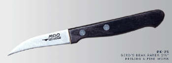 """MAC Knives - Original 2.5"""" Bird's beak paring knife - PK-25"""