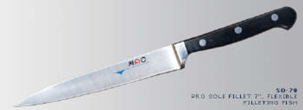 "MAC Knives - Professional 7"" flexible Fillet knife - SO-70"