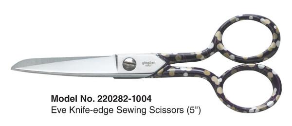 "Gingher 2014 Designer Series EVE - 5"" Sewing Scissors"