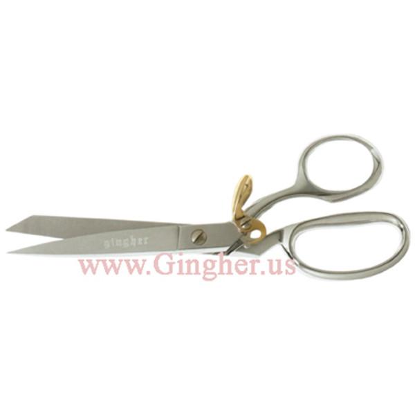 """Gingher 8"""" Spring Action Knife Edge Dressmaker's Shears - G-8SA"""