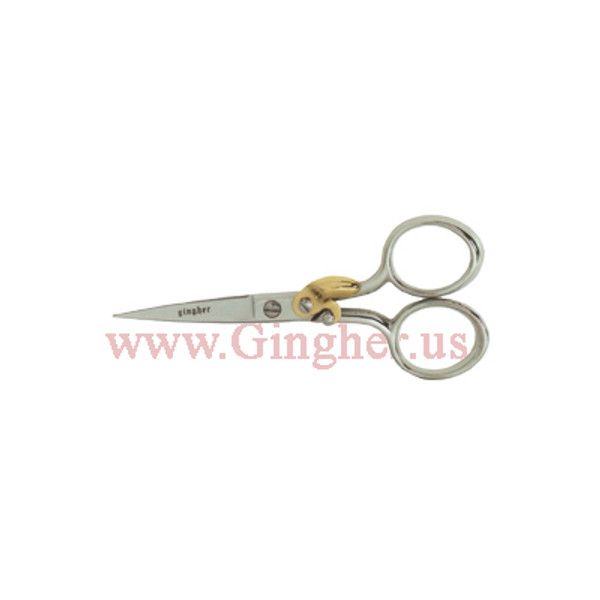 "Gingher 4"" Spring Action Embroidery Scissors - G-4SA"