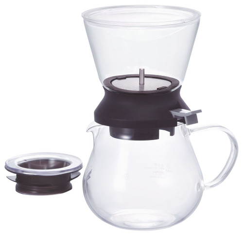 This glamorous tea set allows you to see the brew and extraction of your tea leaves. It transforms the experience.