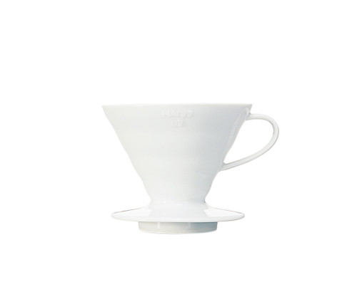 Add this charm to your specialty coffee corner at home. Crack open your fresh bag of single origin beans on this beautiful ceramic V60 by Hario from Japan. Dive into the brewing variables and experience other flavours you may not get on the French Press/Cafetiere or Espresso.