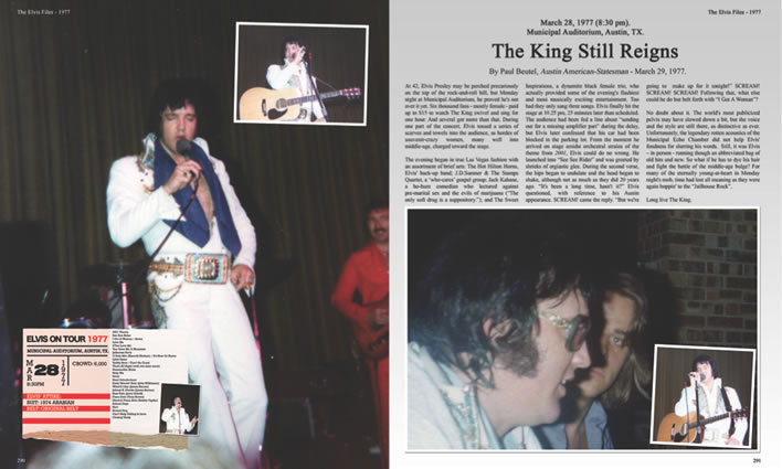 Preview : The Elvis Files Volume 8 1976-1977 : Hardcover Book.