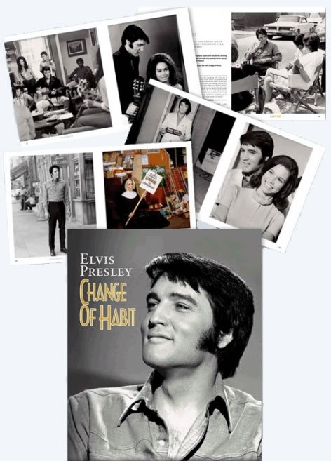 Elvis Presley 'Change Of Habit' Hardcover Book from FTD Books,  Pal Granlund and David English.