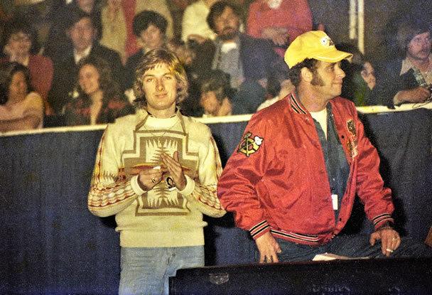 Bruce Jackson and Felton Javis.