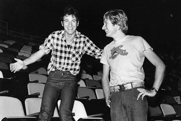 Bruce Springsten and Bruce Jackson.