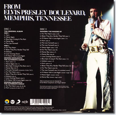 From Elvis Presley Boulevard : The Back Cover.
