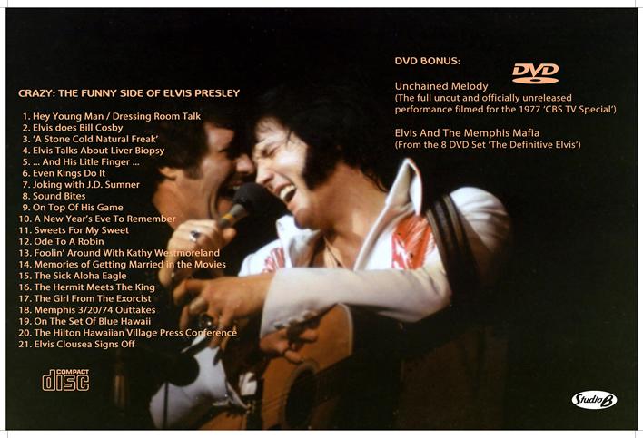 The Elvis I Knew by Charlie Hodge DVD + FREE CD Disc (Elvis Presley),