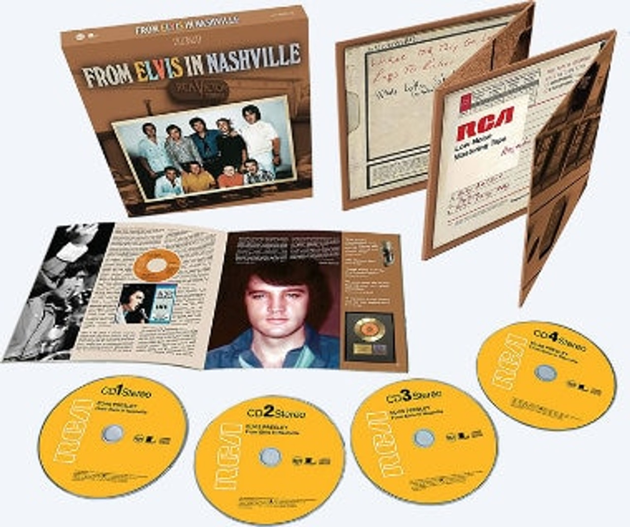 From Elvis In Nashville 4 CD Set from Sony Music - Elvis Presley WebShop
