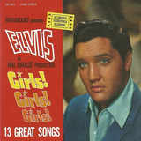 "Elvis Girls! Girls! Girls! CD : FTD Special Edition / Classic Movie Soundtrack Album 7"" Presentation (Elvis Presley)"