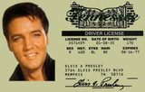 Elvis Presley Driver License ID Card
