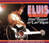 Elvis: From Sunset To Las Vegas : 1975 : FTD 2 CD Set [Concert + Rehearsals]