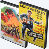 Elvis: Jailhouse Rock and Elvis: Love Me Tender Colorized Edition DVDs