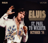 'Elvis: St. Paul To Wichita - October '74' (2-CD)