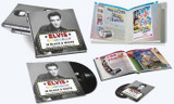 Elvis Technicolor In Black And White | Hardcover Book, LP Record & CD