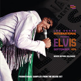 5 track Promo CD | Las Vegas International Presents Elvis - September 1970 Promotional CD